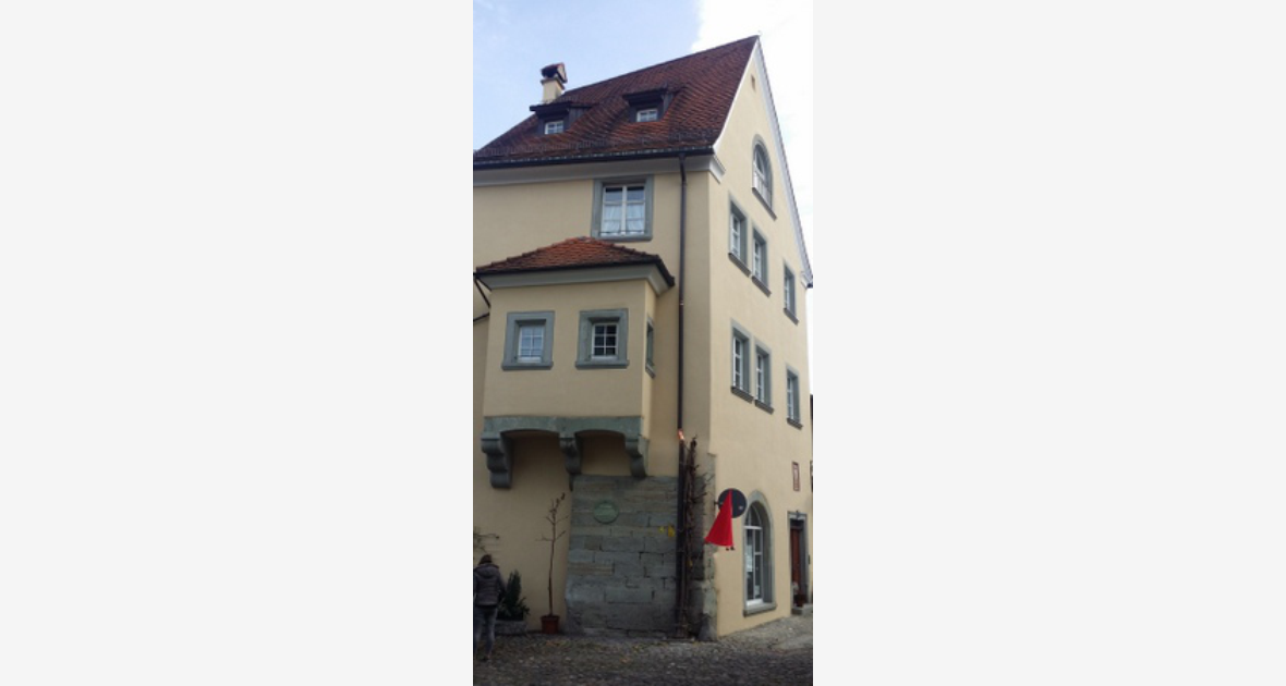 Denkmalgeschütztes Haus Fassadenrenovierung