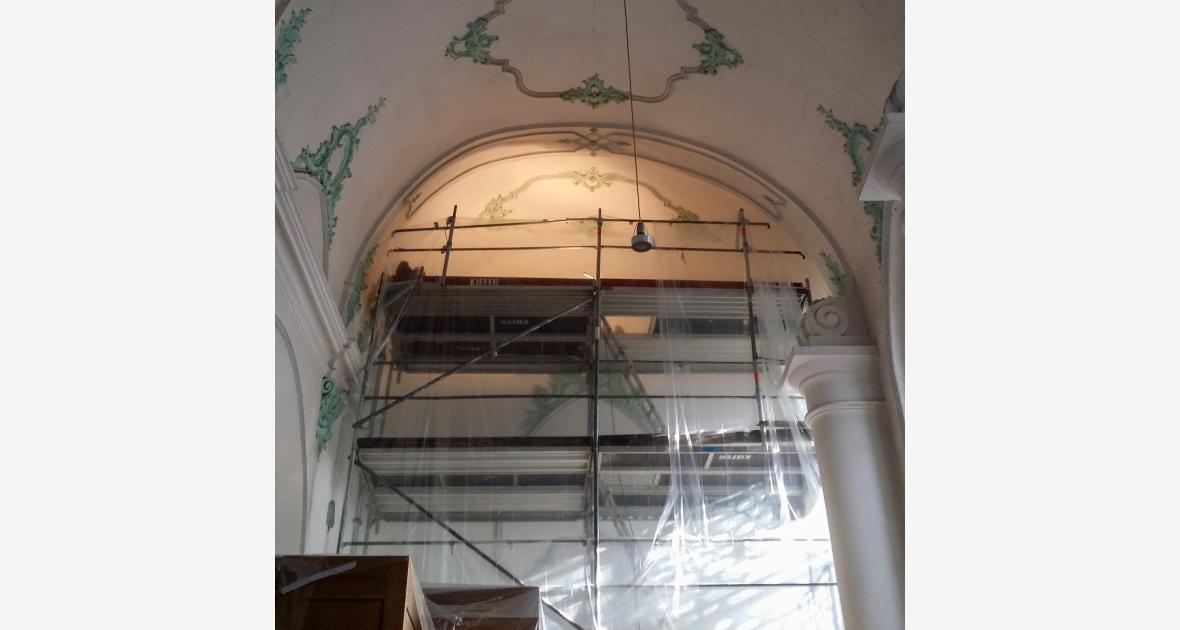 Renovierung Kirche St. Stephan Lindau