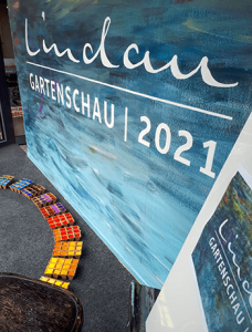 Plakatentwurf Gartenschau Lindau 2021
